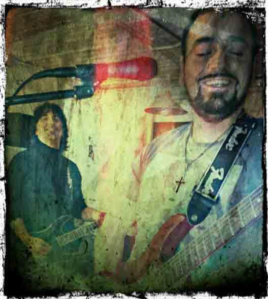 Gabriele et Michel (guitares)